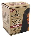 Dr. Miracles Relaxer No Base Creme Regular 18.75oz Jar (2 Pack)
