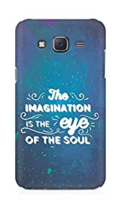 Amez The Imagination is the Eye of the Soul Back Cover For Samsung Galaxy J5