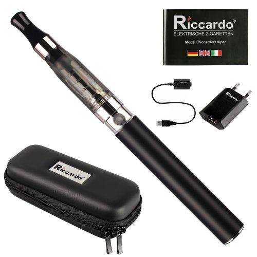 Riccardo eGo Viper Classic Starterset e-Zigarette, 650 mAh,...