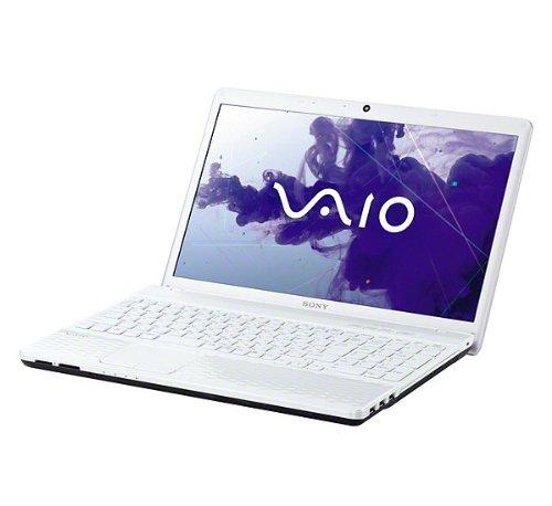 SONY VAIO Eシリーズ 15.5型ワイド液晶 カラー: ホワイト プロセッサー:Intel Core_i3 (2.3GHz) HDD:320GB メモリー4GB DVDスーパーマルチドライブ OS:Windows7 Home Premium 64ビット 正規版 (SP1)
