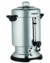 Hamilton Beach D50065 Commercial 60-Cup Stainless-Steel Coffee Urn, Silver made by Hamilton Beach