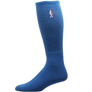 NBA NBA Logoman Crew Socks - Medium Blue by For Bare Feet