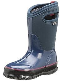 Bogs Kids Classic Solid Waterproof Winter Rain Boot (Toddler/Little Kid/Big Kid)