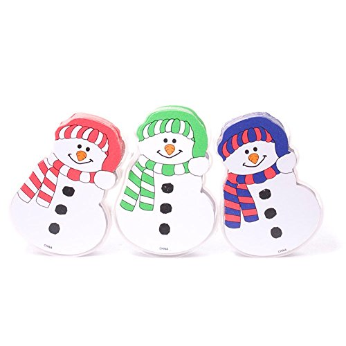 Snowman Shaped Playing Cards - 1