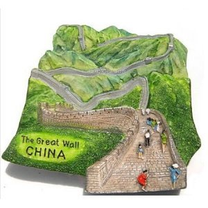 7 Wonders of The World The Great Wall China 3D High Quality Resin 3D fridge Refrigerator Thai Magnet Hand Made Craft