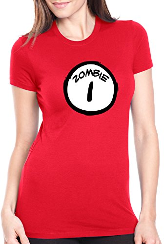 Women's Zombie One T Shirt Funny Halloween Couple's Costume Zombies Tee