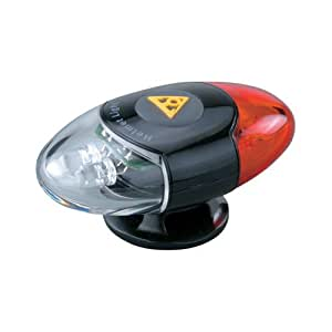Topeak HeadLux Helmet Light - Black/Red/White