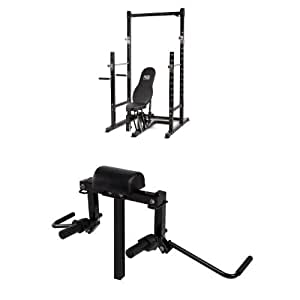 Amazon Com Impex Marcy Platinum Power Rack And Butterfly
