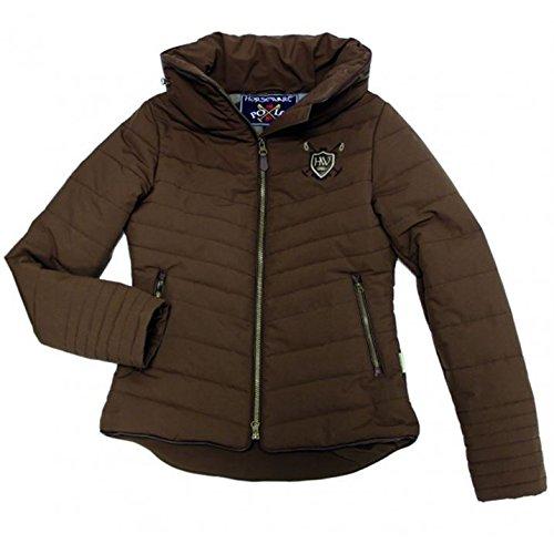 horseware-womens-maya-jacket-water-repellent-hooded-full-zip-equestrian-top-chocolate-m-12