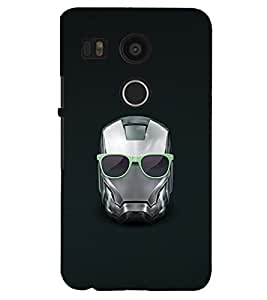 PRINTSHOPPII SUPERHERO Back Case Cover for LG Google Nexus 5X::LG Google Nexus 5X (2nd Gen)::Google Nexus 5X::Nexus 5X (2015)