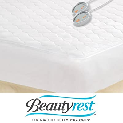 Beautyrest Queen-size Heated Electric Mattress Pad. Free Shipping.