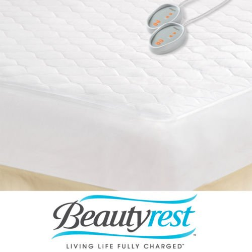 Heated Mattress Pad Electric Blanket Pad Dual Control King Size Bed Warmer Climb Into A Pre-Warmed Bed On The Coldest Of Nights And Be Snuggly Toasty front-1009226