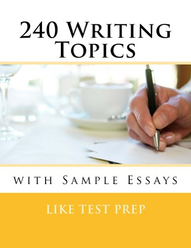 topics for writing essays