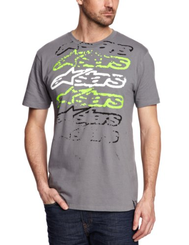 Alpinestars Garbled Slogan Men's T-Shirt Graphite Medium