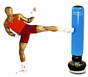 gaiam sac de frappe sur pied billy blanks tae bo contact. Black Bedroom Furniture Sets. Home Design Ideas