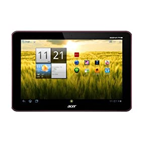 Acer Iconia A200-10r16u 10.1-Inch Tablet (Metallic Red)