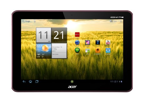 Acer Iconia A200-10r16u 10.1-Inch Bolus (Metallic Red)