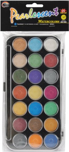 pearlescent-watercolor-paint-cakes-21-pkg-assorted-colors