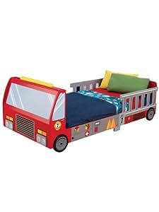 KidKraft - Letto per bambini a forma di camion dei pompieri: Amazon.it: Prima infanzia