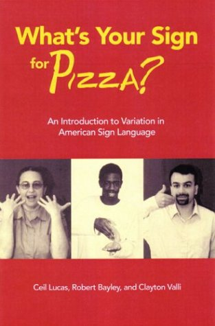 What's Your Sign for Pizza?: An Introduction to Variation...