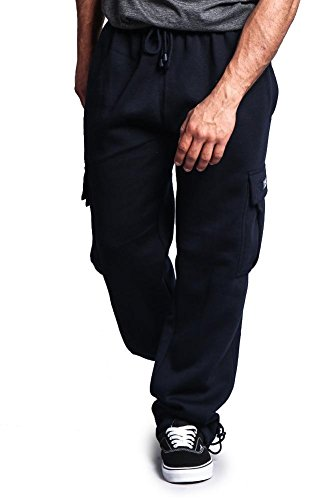 Hat and Beyond RD Mens Cargo Sweatpants Heavyweight Pants Fleece Long S-5XL 1RDA0005