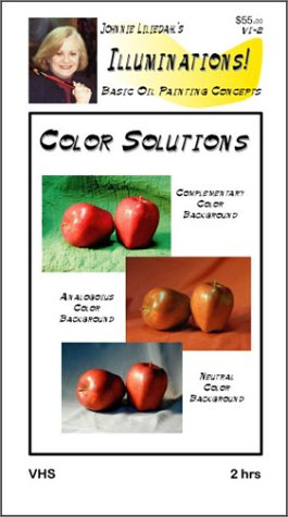 Color Solutions, Illuminations! Series, Basic Oil Painting Concepts [VHS]