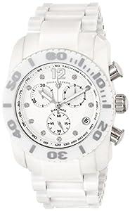 Swiss Legend Reloj Cronógrafo Commander Blanco