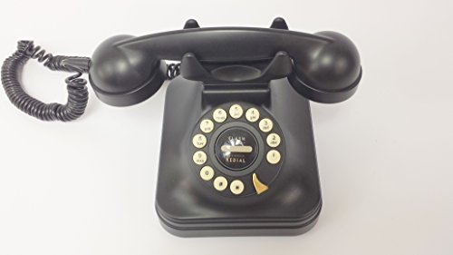 Pottery Barn Pb Grand Phone Black Vintage Style