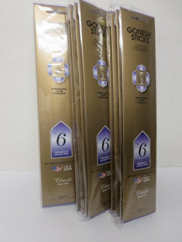 gonesh-incense-sticks-extra-rich-collection-no6-perfumes-of-ancient-times-12-pack-20-sticks-pack