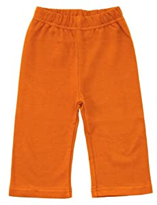 Zutano Primary Solid Pant, Orange, 6-12 Months from Zutano