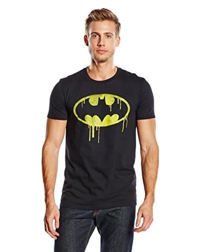 DC COMICS Camiseta Manga Corta Batman Dripping Logo