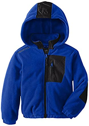 Nautica Little Boys' Fleece Jacket, Cobalt, Medium