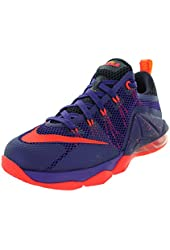 Nike Kids Lebron XII Low (GS) Basketball Shoe