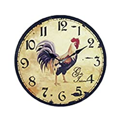 COQ Rooster Quartz Wall Clock - 11