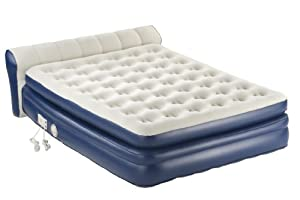 Aerobed Premier Air Bed With Headboard Queen