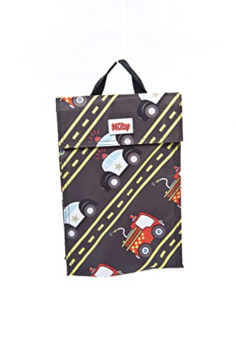 NUBY Insulated Lunch Bag, Cars