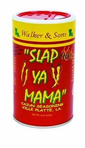 Slap Ya Mama Hot Blend, 8-Ounce (Pack of 6)