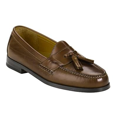 Cole Haan Men's PINCH TASSEL Saddle Tan Leather Casual 8 D(M) US
