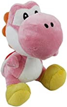 Little Buddy Toys Nintendo Official Super Mario Yoshi Plush 6quot Pink