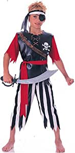Rubies Halloween Concepts Children's Costumes Pirate King - Small