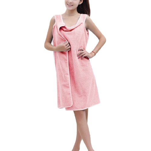 Swimwear Shower Body Spa Bath Wrap Robe Towel Bathrobe For Lady front-12962