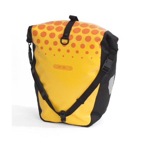 ORTLIEB(オルトリーブ) バックローラークラシック デザイン DOTS サンイエロー/オレンジ F5408
