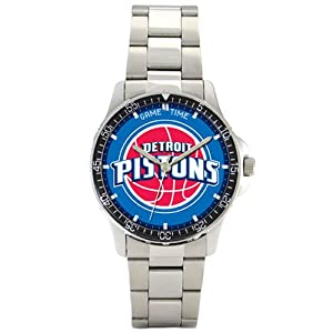 NBA Mens BC-DET Detroit Pistons Coach Series Watch by Game Time