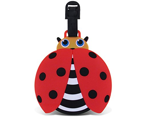 WeGlow International Fun Luggage Tag - Ladybug