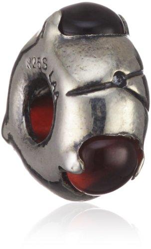 Trollbeads Silver Bead with Garnet 51712