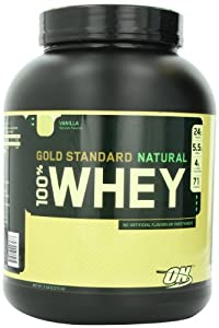 Optimum Nutrition - 100% Whey Gold Chocolate, 5 lb powder