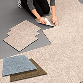 Self Stick Indoor Outdoor Carpet Tiles Flooring