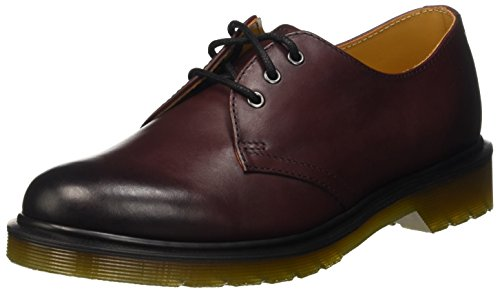 Dr. Martens 1461 Temperley, Mocassini Donna, Rosso (Cherry Red), 38 EU