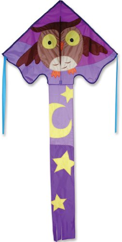 Premier 44137 Large Easy Flyer Kite with Fiberglass Frame, Hootie Hoot
