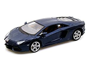 2011 Lamborghini Aventador LP-700-4 1/24 Blue by Lamborghini